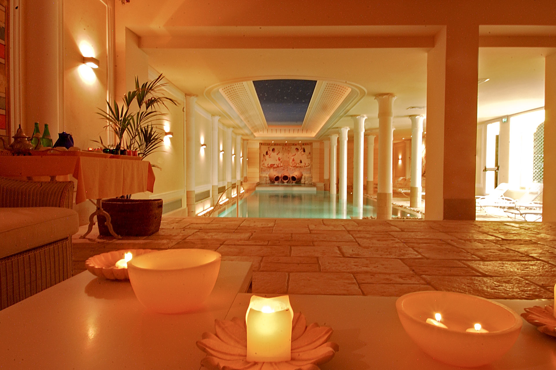 Zona relax, Iside Spa